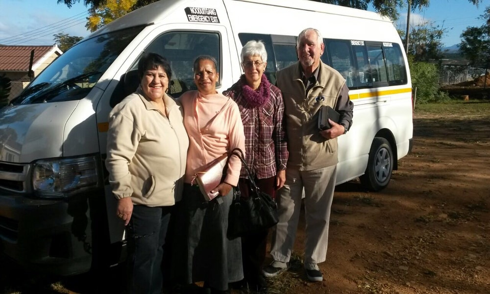 Miracle Comfrey Purchased and Gifted a Minibus